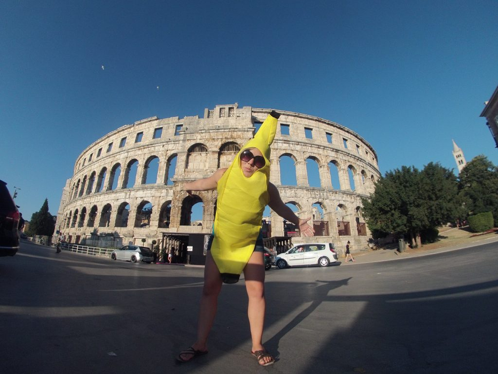 Banana at Pula Arena