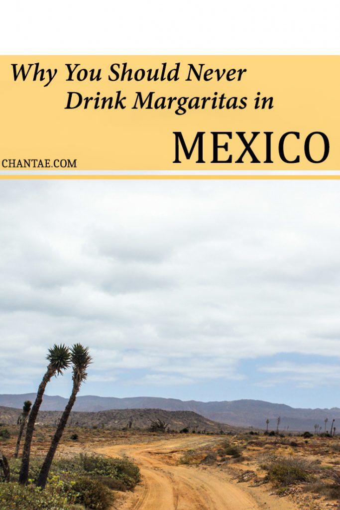 A warning for drinking Margaritas in Mulege, Mexico