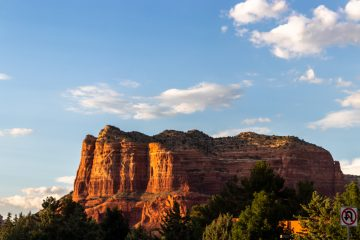 Mesa in Sedona Arizona